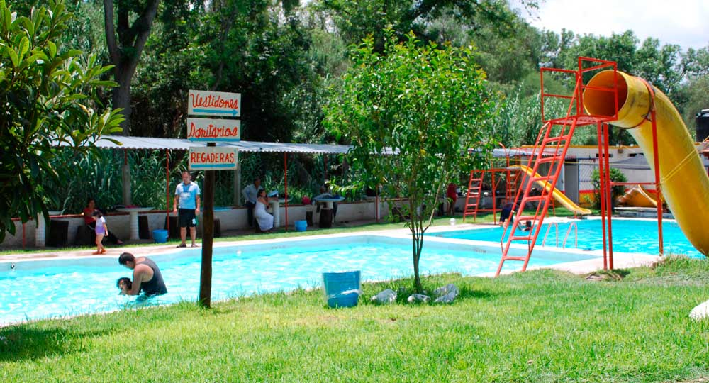 Baño Regadera Enfermeria:Balneario El Bidho